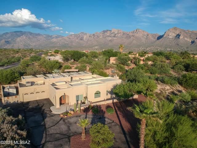 11166 N Poinsettia Drive, Tucson, AZ 85737 (#22119289) :: Long Realty - The Vallee Gold Team