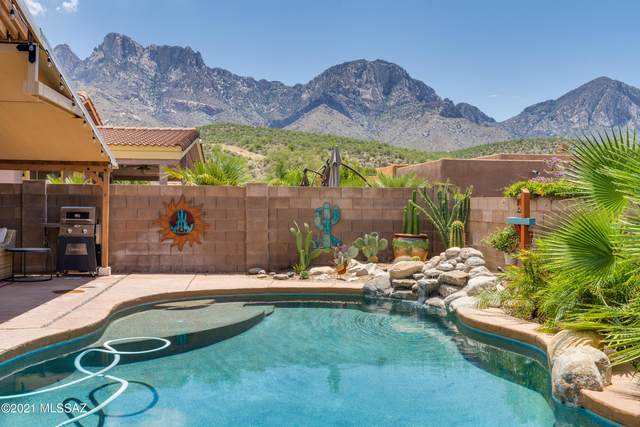 11347 N Gray Boulder Court, Tucson, AZ 85737 (#22119297) :: Long Realty - The Vallee Gold Team