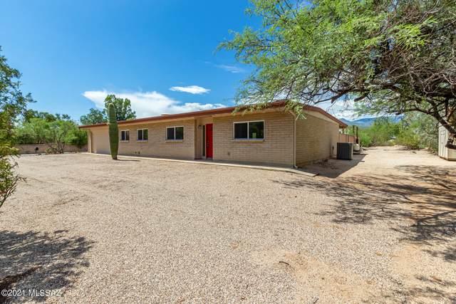 2460 N Tanque Verde Acres Drive, Tucson, AZ 85749 (#22119622) :: The Josh Berkley Team