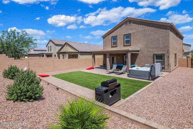 9139 W Blue Saguaro Street, Marana, AZ 85653 (#22119857) :: AZ Power Team