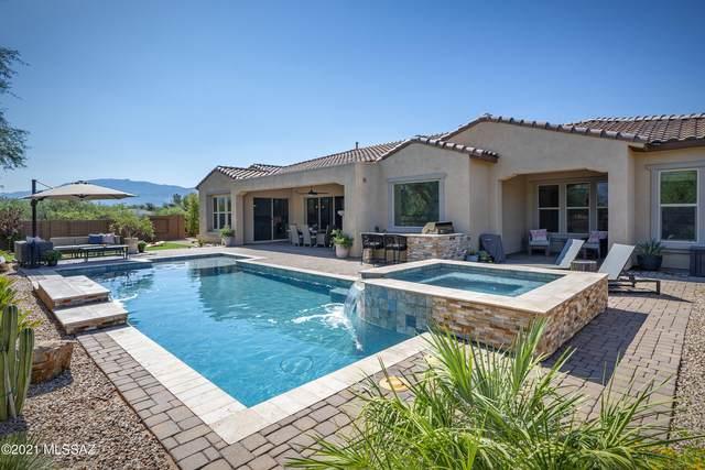 2575 N Wychwood Court, Tucson, AZ 85749 (#22119965) :: The Josh Berkley Team