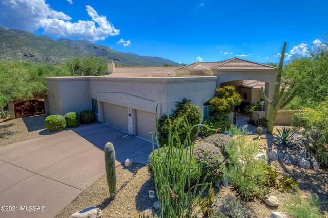5100 N Sabino Springs Drive, Tucson, AZ 85749 (#22119966) :: The Josh Berkley Team