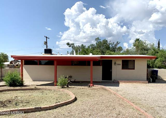 5941 E Waverly Place, Tucson, AZ 85712 (#22120345) :: Long Realty - The Vallee Gold Team