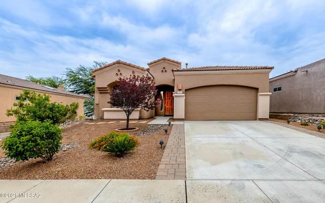 13644 E High Plains Ranch Street, Vail, AZ 85641 (#22120513) :: Keller Williams