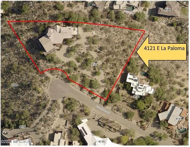 4121 E La Paloma Drive, Tucson, AZ 85718 (#22120989) :: Kino Abrams brokered by Tierra Antigua Realty