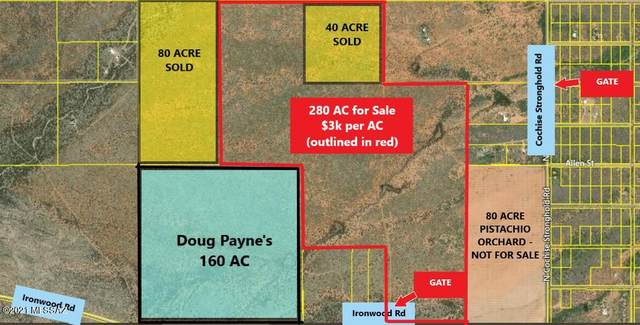280 Ac On Ironwood Rd Road -, Cochise, AZ 85606 (#22122099) :: Elite Home Advisors | Keller Williams