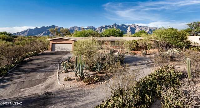 1521 E Via Soledad, Tucson, AZ 85718 (#22122557) :: Kino Abrams brokered by Tierra Antigua Realty