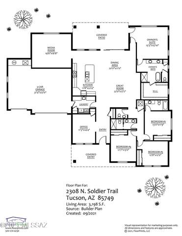 2308 N Soldier Trail, Tucson, AZ 85749 (#22123577) :: Long Realty - The Vallee Gold Team