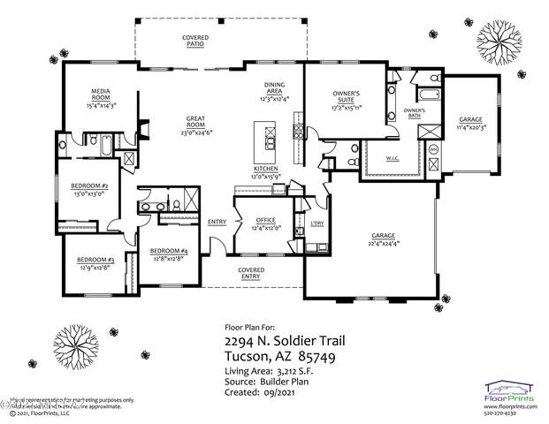 2294 N Soldier Trail, Tucson, AZ 85749 (#22123596) :: Long Realty - The Vallee Gold Team