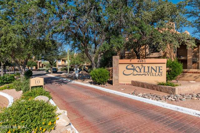 6651 N Campbell Avenue #115, Tucson, AZ 85718 (MLS #22124014) :: The Luna Team