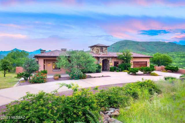 1266 Morning Star Drive, Tubac, AZ 85646 (#22124246) :: Long Realty - The Vallee Gold Team