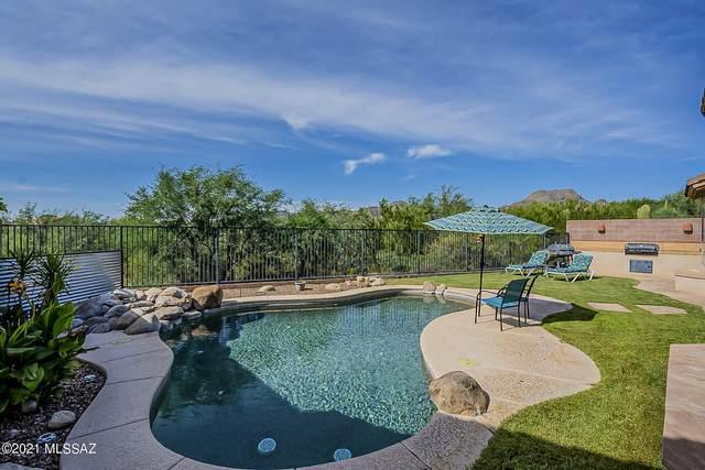 12841 N Cactus Terrace Place, Marana, AZ 85658 (#22124861) :: Long Realty - The Vallee Gold Team