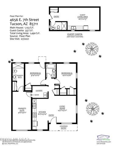 4656 E 7Th Street, Tucson, AZ 85711 (#22125198) :: Kino Abrams brokered by Tierra Antigua Realty