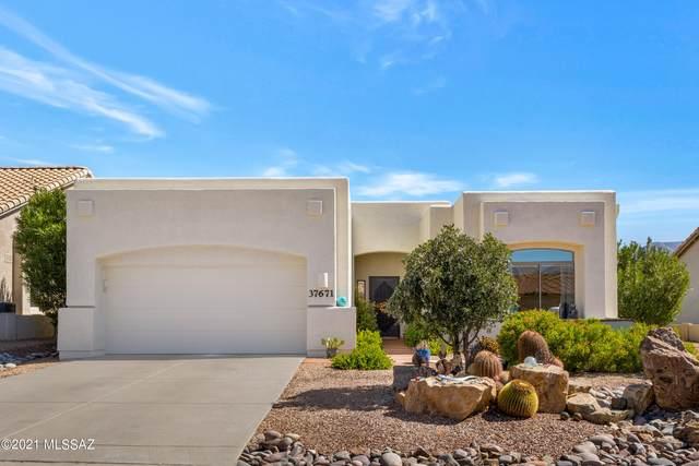 37671 S Hill Side Drive, Saddlebrooke, AZ 85739 (#22125992) :: Kino Abrams brokered by Tierra Antigua Realty
