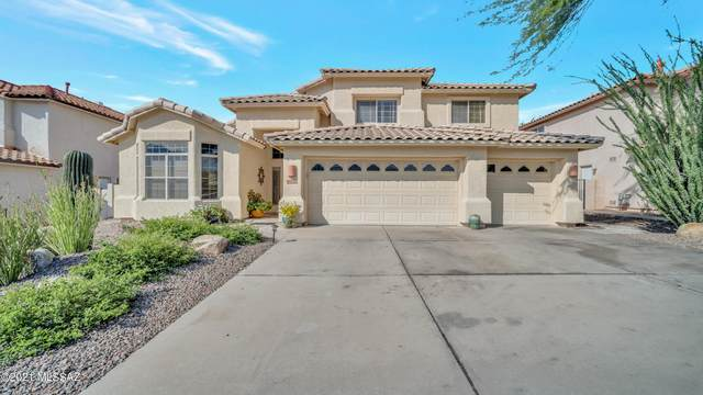 12405 N Mount Bigelow Road, Oro Valley, AZ 85755 (#22126391) :: Long Realty - The Vallee Gold Team