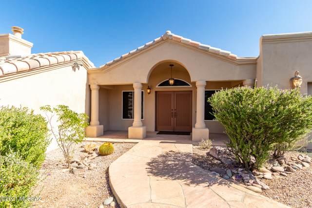 4481 W Camino De Cielo, Tucson, AZ 85745 (#22126743) :: Long Realty - The Vallee Gold Team