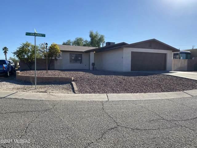 4633 W Calle Don Manuel, Tucson, AZ 85746 (#22127244) :: Gateway Partners International