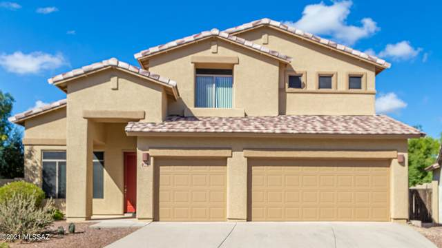 34 W Golden Spur Place, Oro Valley, AZ 85755 (#22127255) :: Kino Abrams brokered by Tierra Antigua Realty