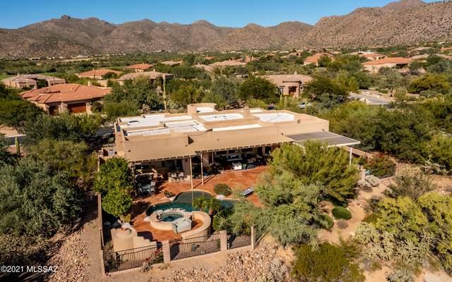 6113 W Sonoran Links Lane, Marana, AZ 85658 (#22127486) :: Kino Abrams brokered by Tierra Antigua Realty