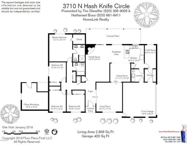 3710 N Hash Knife, Tucson, AZ 85749 (#21802691) :: Long Realty Company