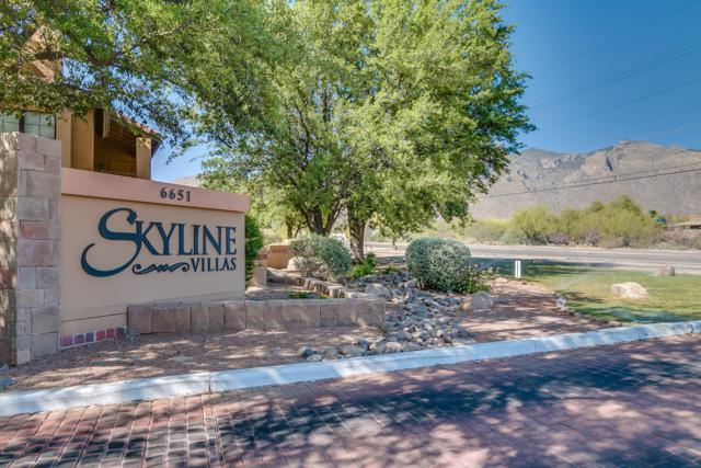 6651 N Campbell Avenue #149, Tucson, AZ 85718 (#21811171) :: Long Realty - The Vallee Gold Team