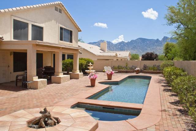 12253 N Echo Valley Drive, Oro Valley, AZ 85755 (#21923800) :: Long Realty Company