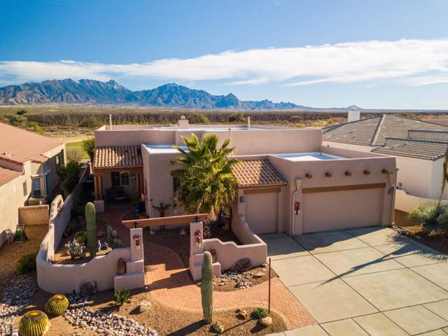 2781 S Greenside Place, Green Valley, AZ 85614 (#22000733) :: Long Realty - The Vallee Gold Team