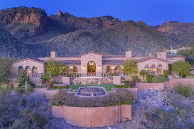 7406 N Secret Canyon Drive, Tucson, AZ 85718 (#22002848) :: Long Realty - The Vallee Gold Team