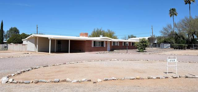 8709 N Hickory Drive, Tucson, AZ 85704 (#22008445) :: Long Realty - The Vallee Gold Team