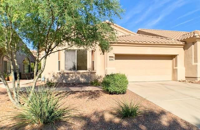 13401 N Rancho Vistoso Boulevard #194, Oro Valley, AZ 85755 (#22011849) :: Gateway Partners