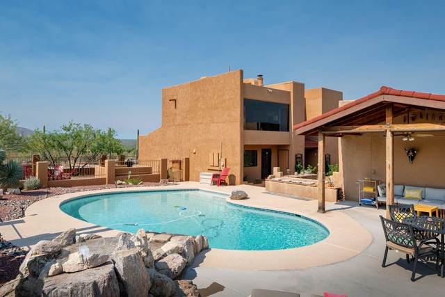 2405 N Avenida Sorgo, Tucson, AZ 85749 (#22015897) :: The Josh Berkley Team