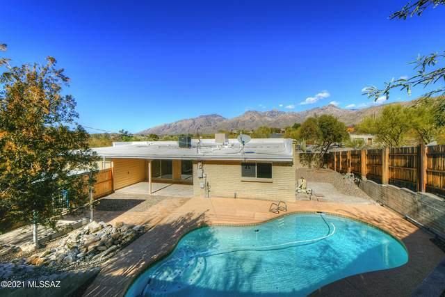8842 E Driftwood Trail, Tucson, AZ 85749 (MLS #22101847) :: My Home Group
