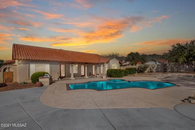 3664 N Ridge Port Place, Tucson, AZ 85750 (MLS #22104762) :: The Property Partners at eXp Realty
