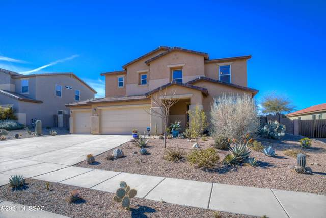 572 E Sterling Canyon Drive, Vail, AZ 85641 (#22105682) :: Kino Abrams brokered by Tierra Antigua Realty