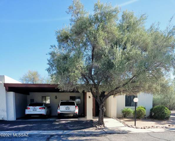 9350 E Speedway Boulevard #5, Tucson, AZ 85710 (MLS #22107853) :: The Luna Team