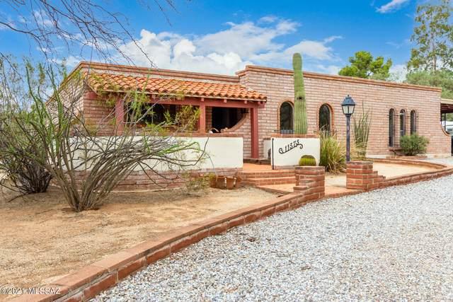 11373 E Chuckwagon Circle, Tucson, AZ 85749 (#22118728) :: Long Realty - The Vallee Gold Team