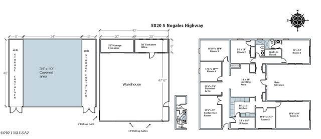 5820 S Nogales Highway, Tucson, AZ 85706 (#22124112) :: Tucson Real Estate Group