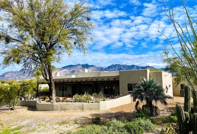3865 N Camino Blanco, Tucson, AZ 85718 (#22007162) :: Long Realty - The Vallee Gold Team