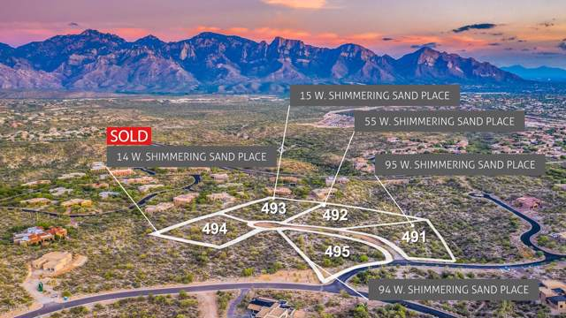15 W Shimmering Sand Place Lot 493, Oro Valley, AZ 85755 (#21918864) :: Long Realty - The Vallee Gold Team