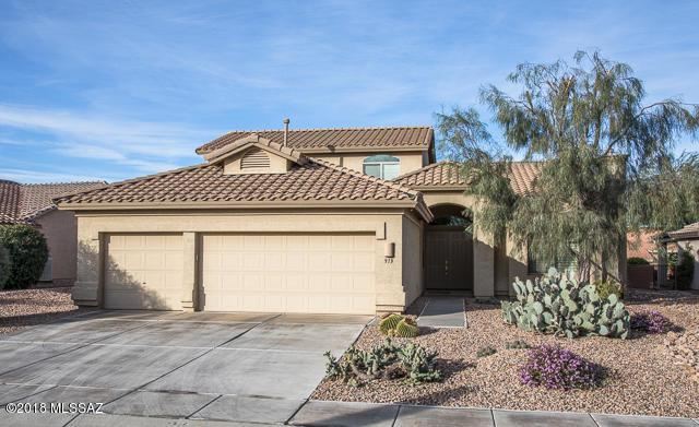 913 N Cowboy Canyon Drive, Green Valley, AZ 85614 (#21805371) :: Long Realty Company