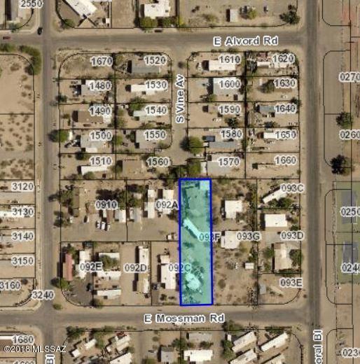 1501 E Mossman Road, Tucson, AZ 85706 (#21827092) :: Long Realty Company