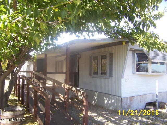472 N Cherokee Trail, Benson, AZ 85602 (#21831632) :: The Local Real Estate Group | Realty Executives