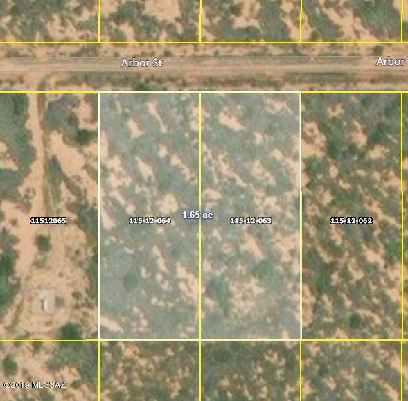 1.66 Acres Arbor Street 3 & 4, Pearce, AZ 85625 (#21920282) :: The Local Real Estate Group | Realty Executives