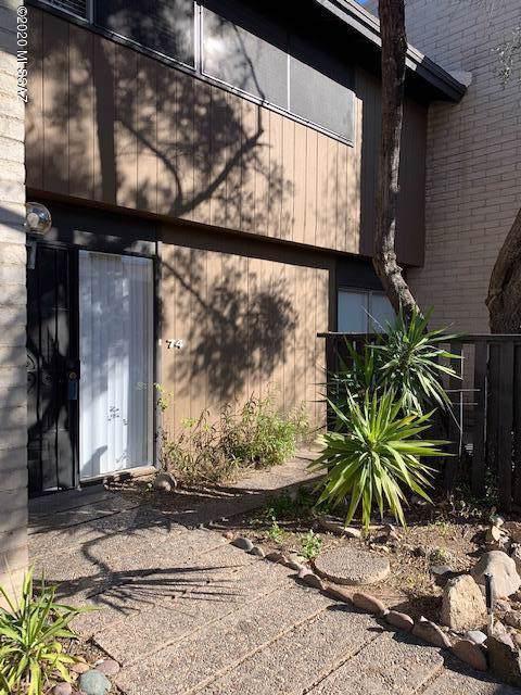 5701 E Glenn Street Unit 74, Tucson, AZ 85712 (#22002452) :: Keller Williams