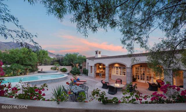 7268 N Cathedral Rock Road, Tucson, AZ 85718 (#22029308) :: Long Realty - The Vallee Gold Team