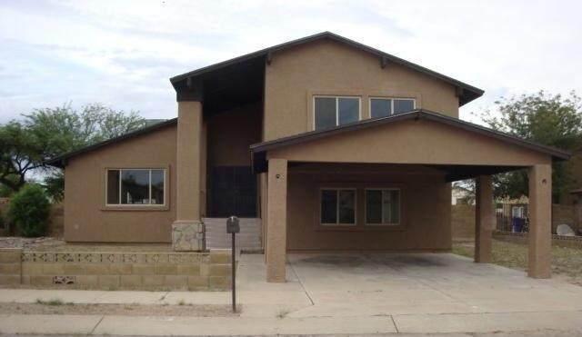 7591 S Camino Escarpado, Tucson, AZ 85746 (#22112111) :: Long Realty - The Vallee Gold Team