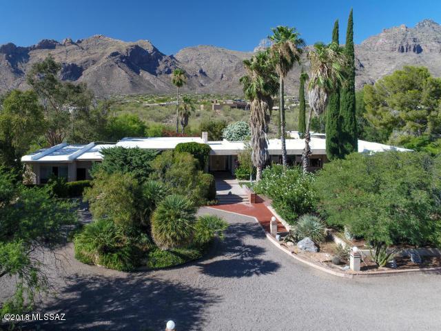 7101 N Corrida De Venado, Tucson, AZ 85718 (#21832675) :: Long Realty Company