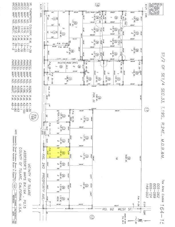 1 W Prosperity Avenue, Tulare, CA 93274 (#200268) :: The Jillian Bos Team