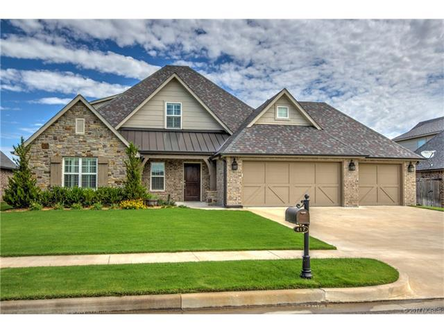417 W 127th Street S, Jenks, OK 74037 (MLS #1723405) :: The Boone Hupp Group at Keller Williams Realty Preferred