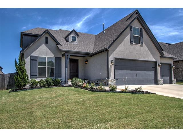 5871 E 144th Street, Bixby, OK 74008 (MLS #1724457) :: The Boone Hupp Group at Keller Williams Realty Preferred